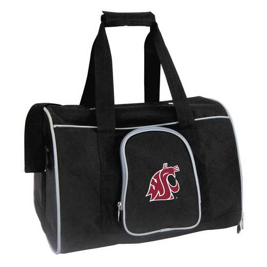 CLWSL901: NCAA Washington State Cougars Pet Carrier Premium 16in bag
